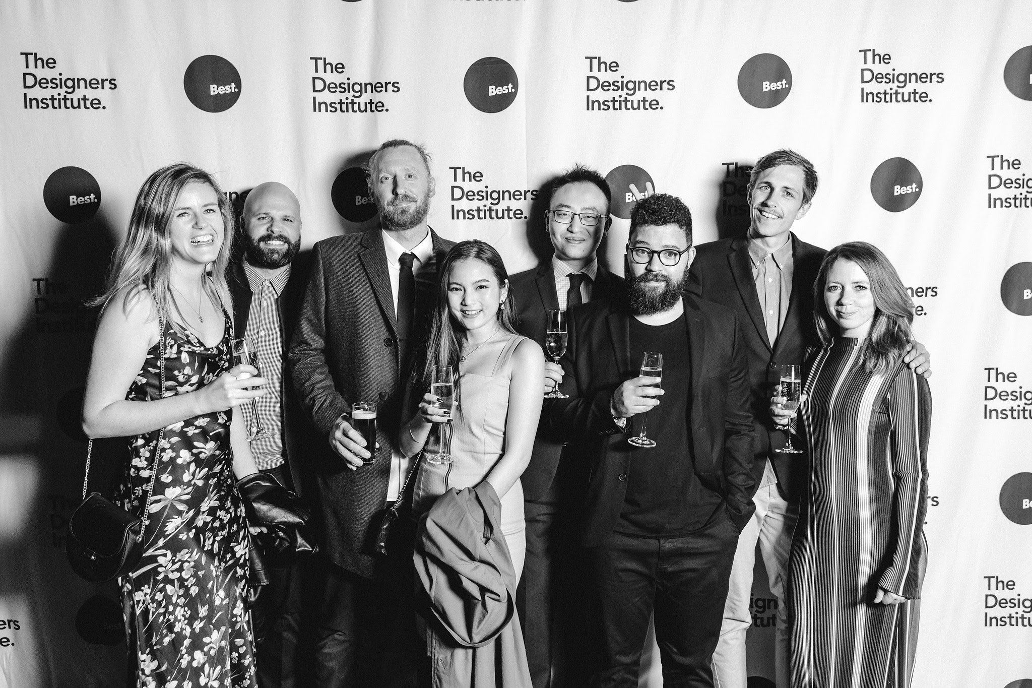 Part of our team at the NZ Best Design Awards 2019 where we received a Gold for Goodnature