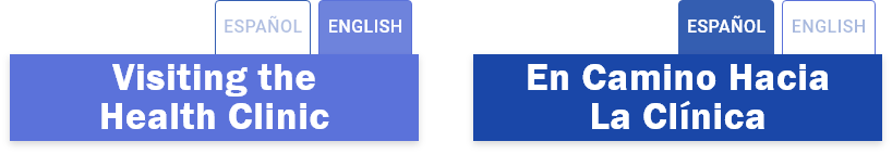 Buttons and styling were used to visually differentiate language settings. Testing revealed that users preferred placement at the top.