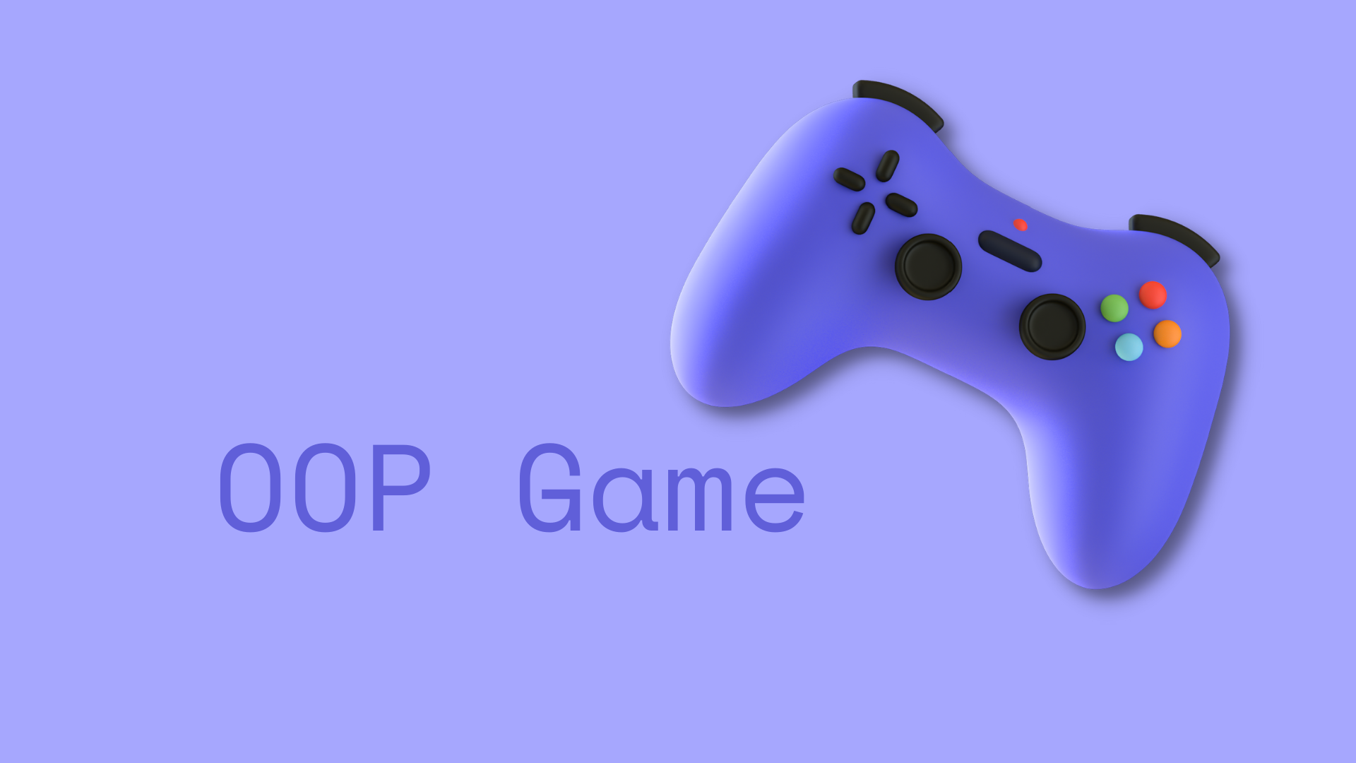 Object Oriented Design Game