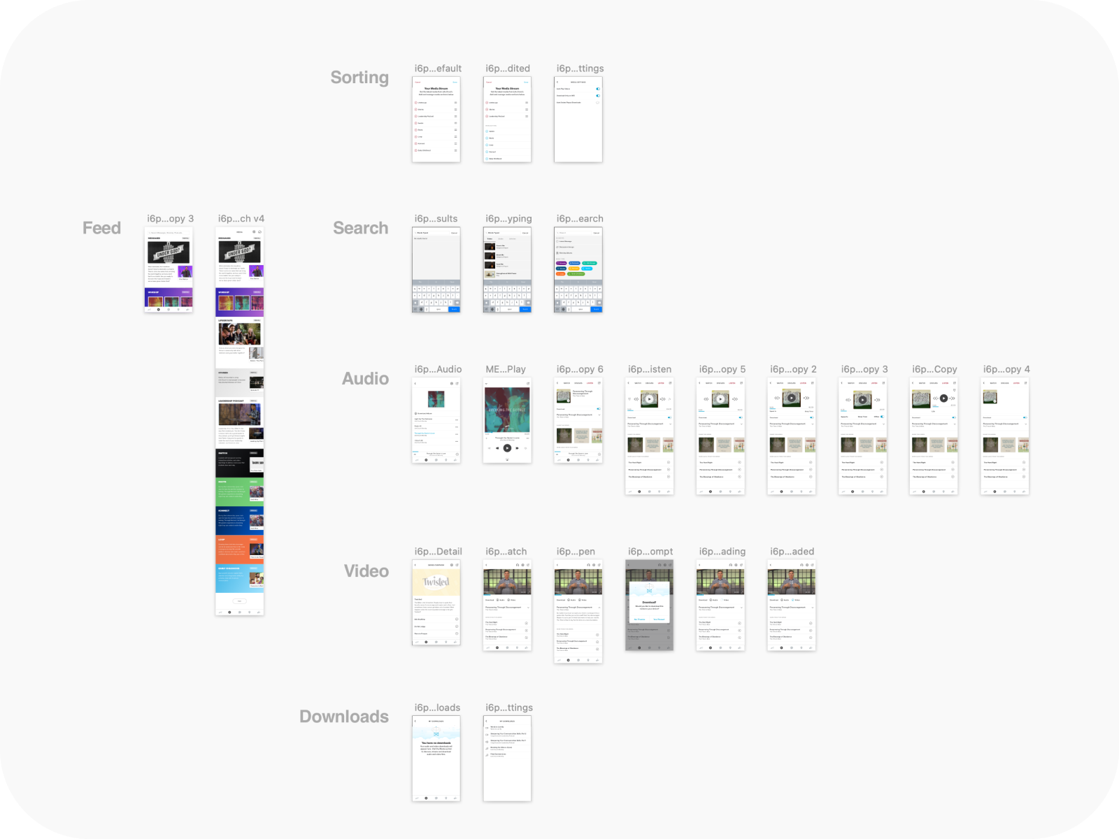 All the Media mobile app templates