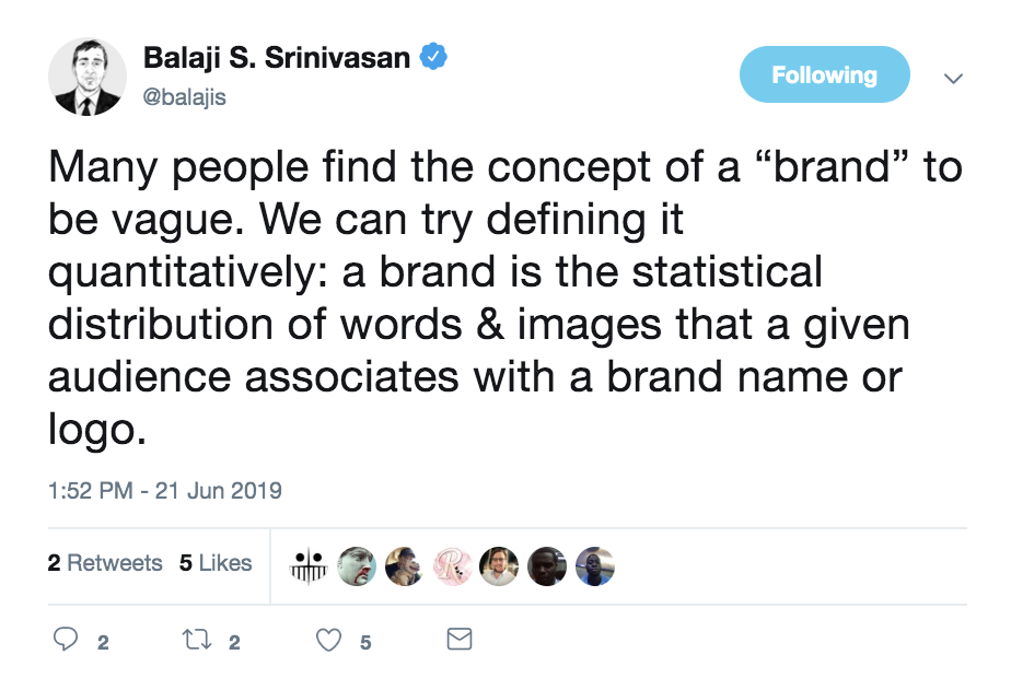 What is a brand? LISTENING