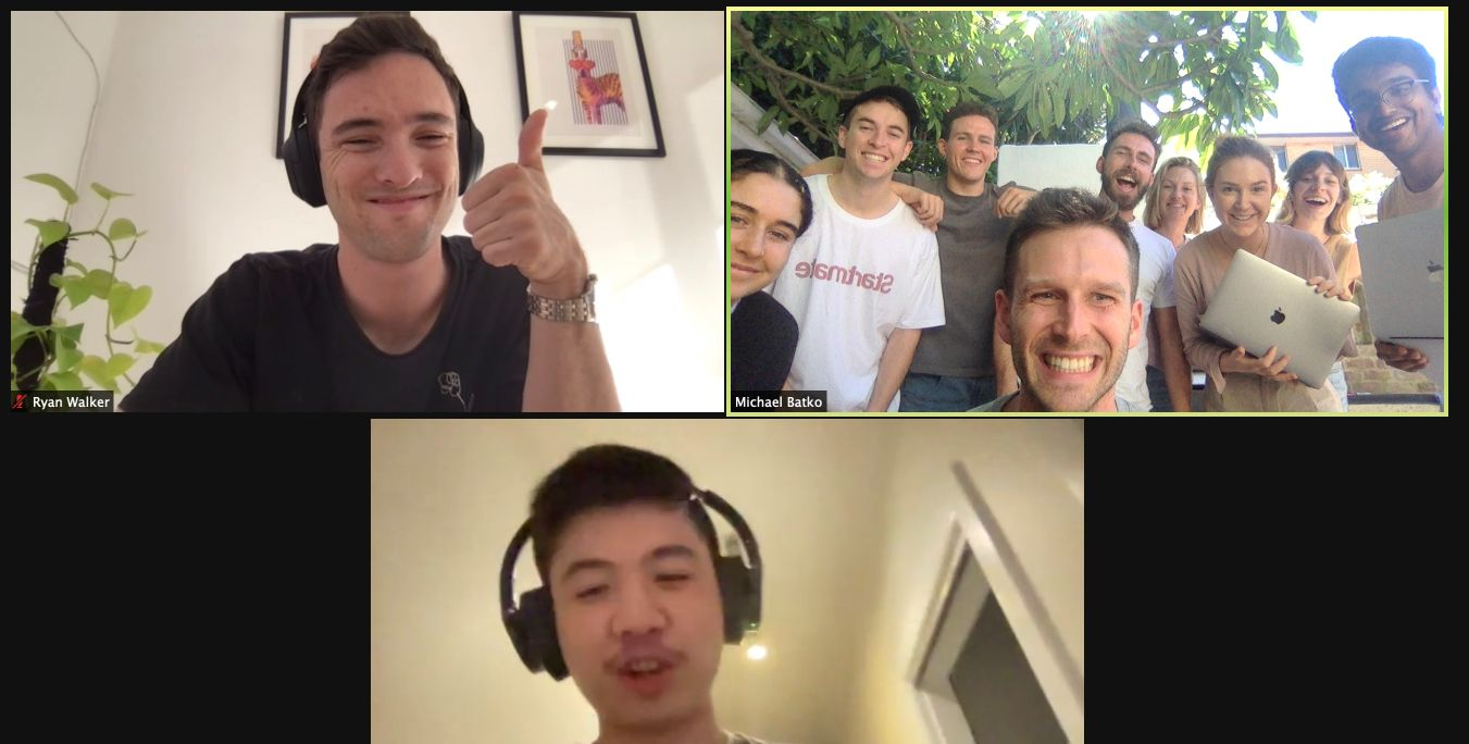 Ryan from 🥝  🇳🇿  joining us through Zoom!