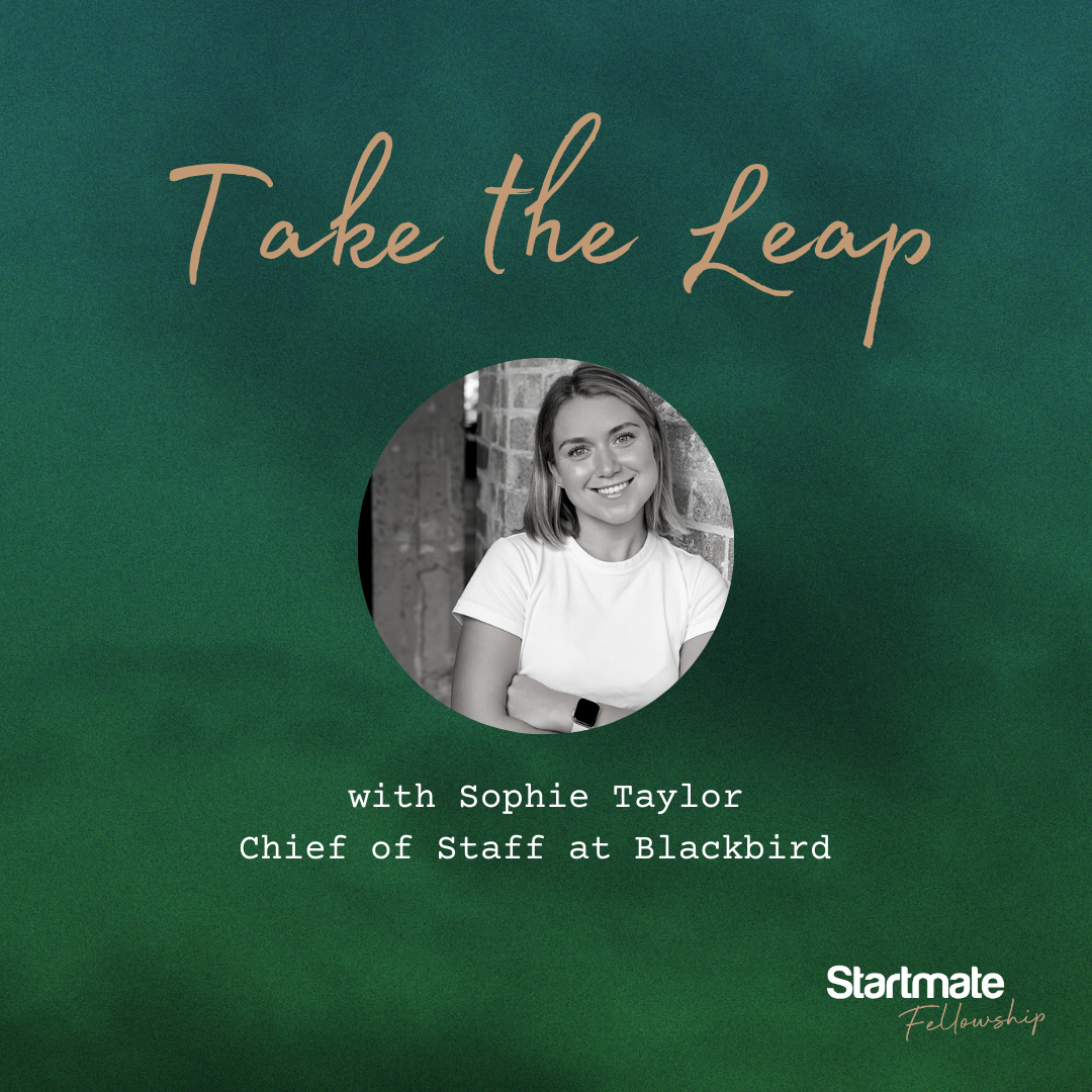 Take the Leap with Sophie Taylor