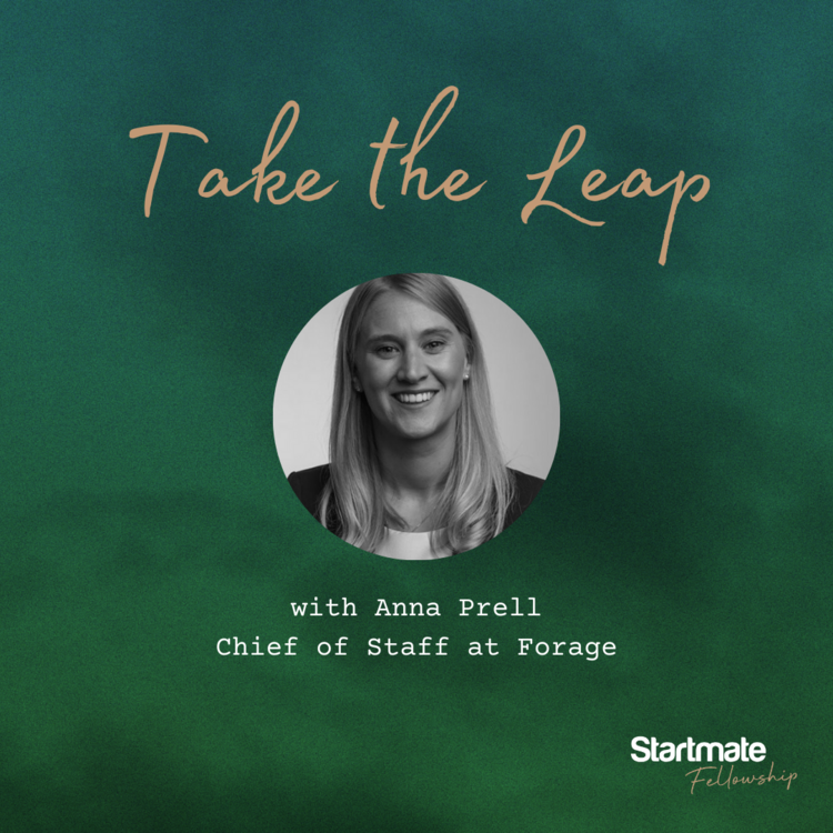 Take the Leap with Anna Prell