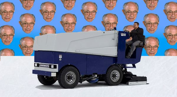 The man who invented the Zamboni