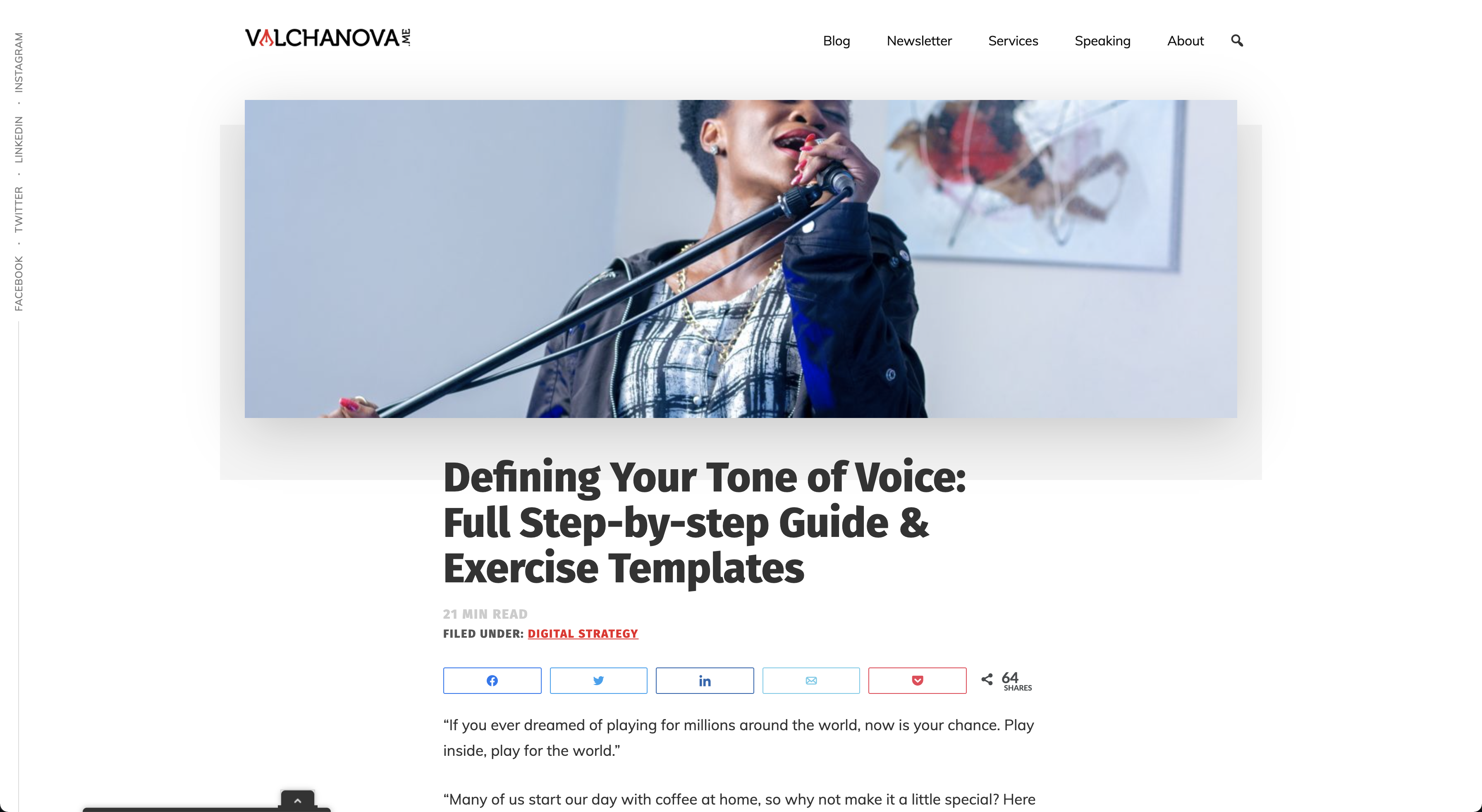 Defining Your Tone of Voice: Full Step-by-step Guide & Exercise Templates
