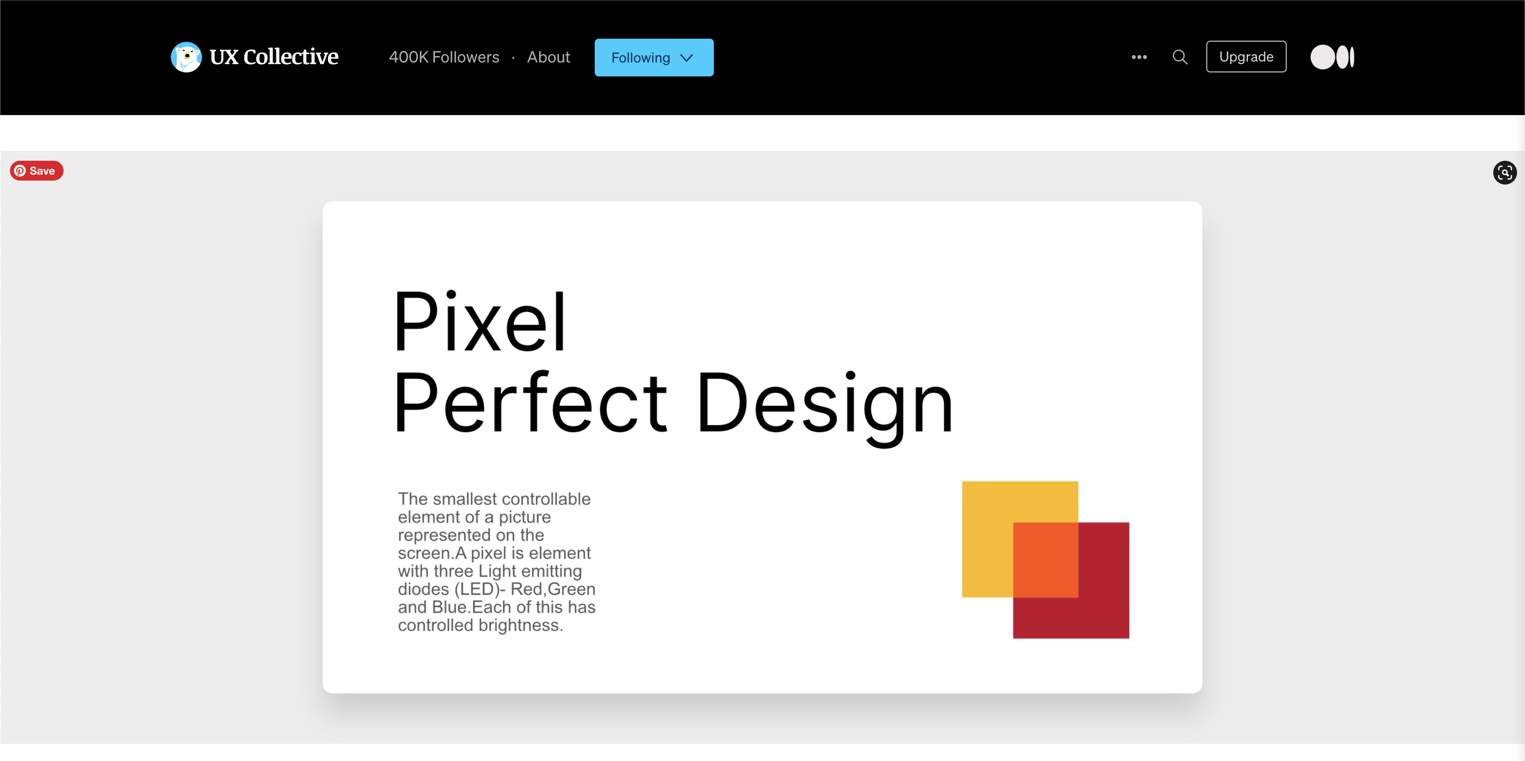 Everything about Pixel Perfect Design