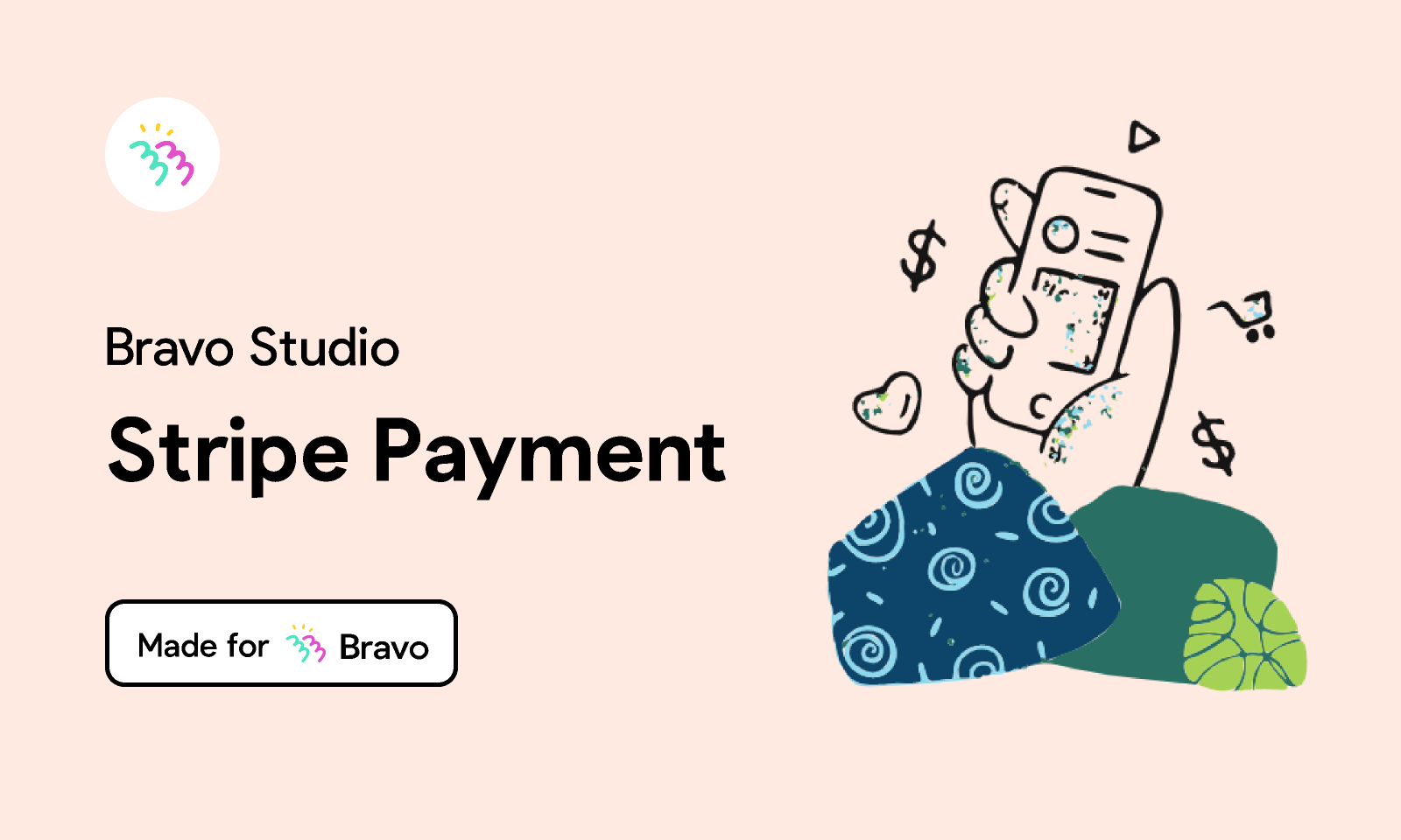 Figma - Bravo Sample: Stripe Payment   Made for Bravo Studio. Add one-time card payments integrated with Stripe in your Bravo app with t...