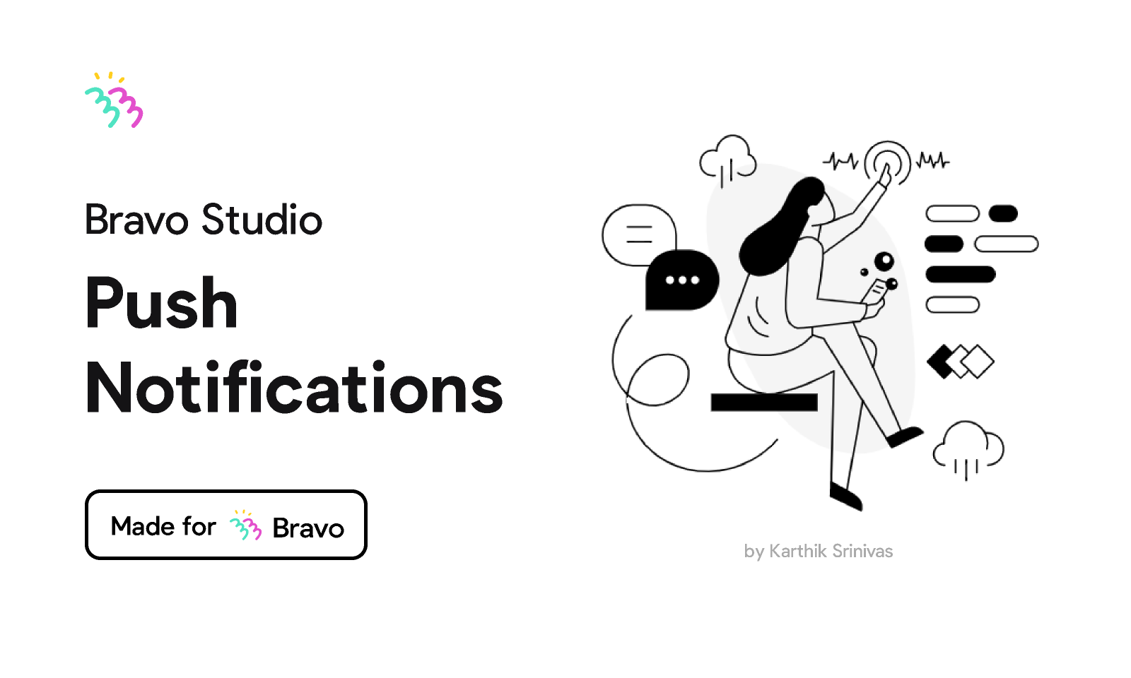 Figma - Bravo Sample: Push Notifications   Made for Bravo Studio. Enable push notifications in your Bravo app with this sample Figma file. ...