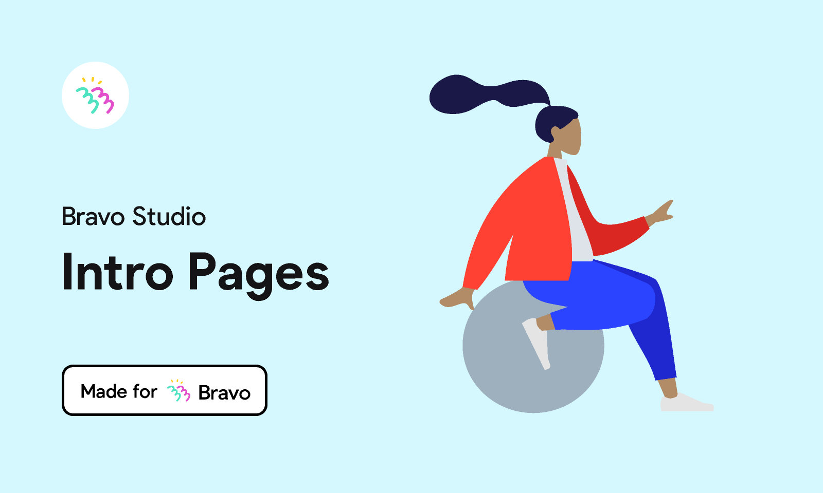 Figma - Bravo Sample: Intro Pages   Made for Bravo Studio. Add intro pages in your Bravo app with this sample Figma file. The file in...